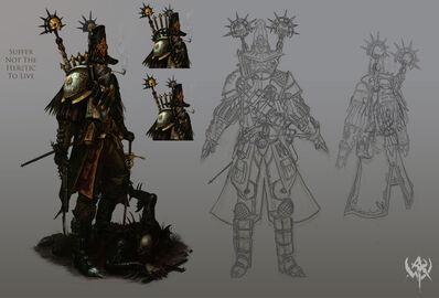 Warhammer Online Cazador de Brujas por Michael Phillippi