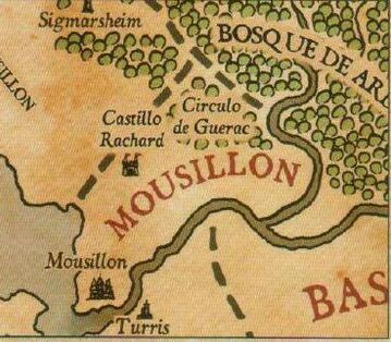 Mapa mousillon