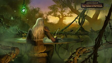 Correo postal Elfos Silvanos por Milek Jakubiec Warhammer Total War