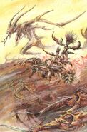 Desolladores Infernales Slaanesh Art por John Blanche
