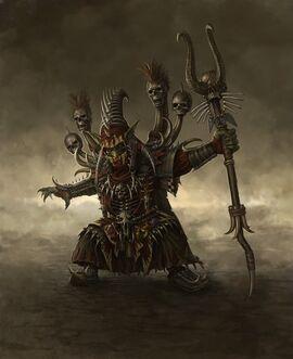 Chamán Goblins por Sven Bybee