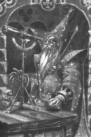Hechicero Celestial por Radoslaw Gruszewicz