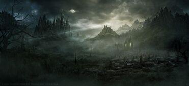 Escenario Warhammer Total War Condes Vampiros por Radojavor