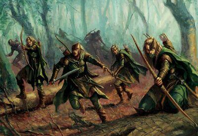 Guardia del Bosque Karl Kopinski Elfos Silvanos
