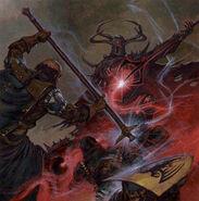 Adrian Smith Duelo Magia Imperio Caos