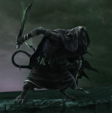 Asesino Skaven warhammer Mark of Chaos