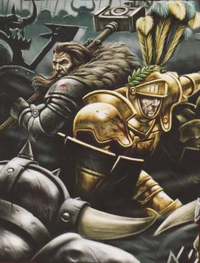 Caballero Imperio Lobo Reiksguard