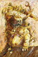 Gran Inmundicia del Caos por John Blanche