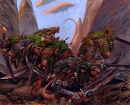 Guerreros de Clan Skavens por Adrian Smith