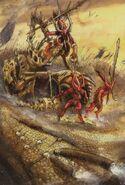 Tronos de Sangre de Khorne 2 de John Blanche