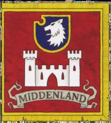 Bandera Middenland