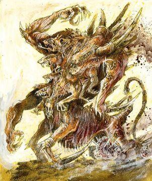 Abominación Pozo Infernal por John Blanche