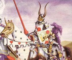 Caballero del Sol Ardiente (por Angus Fieldhouse)