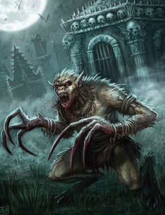 Vampiro Strigoi por Pat Loboyko