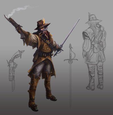 Warhammer Online Cazador de Brujas Arte Concpetual 01 por Michael Phillippi