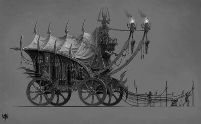 Carromato Elfos Oscuros Warhammer Online