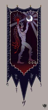 Khaine banner concept