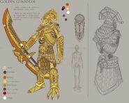 Guardián Dorado Warhammer Online por Michael Phillippi Ushabti