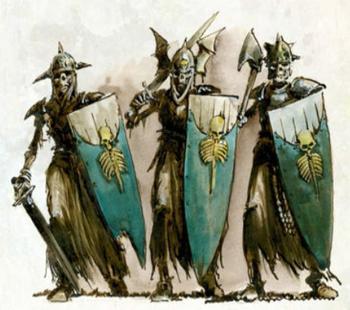 Guardia de la Señora Suprema Tumularios Neferata Imentet Fin de los Tiempos