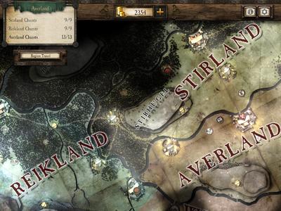 Warhammer quest mapa