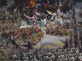Batalla del Templo de Shallya/Contendientes