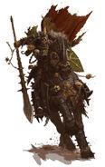 Caballero de Nurgle - forgeworld GW by adrian-smith