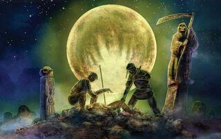 Ladrones de Tumbas-Cadáveres