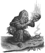 Hag Witch pot Pat Loboyko Bruja Ungol - Shuulam