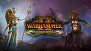 Alarielle y Hellebron Warhammer Total War II