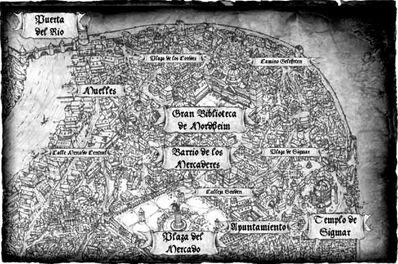 Mordheim Barrio de los Mercaderes