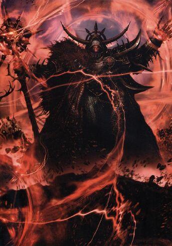 Tempestad de Eldritch por Clint Langley Hechicero del Caos