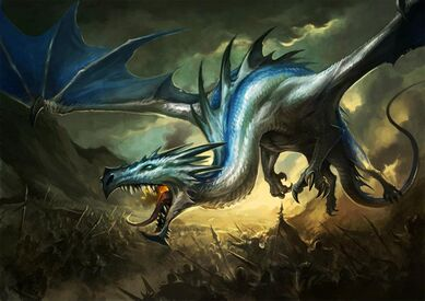 Descendiente de Indraugnir por Sandara Altos Elfos Dragón
