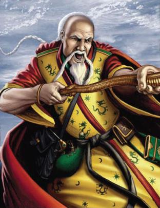 Warhammer carta Maestro Kwoh