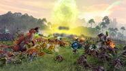 Batalla Hombres Lagarto vs Skaven Warhammer Total War II