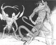 Demonios del caos por Russ Nicholson