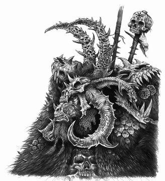 Gorthor el Cruel Hombres Bestia Des Hanley