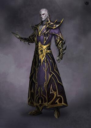 Hechicero Elfo Oscuro