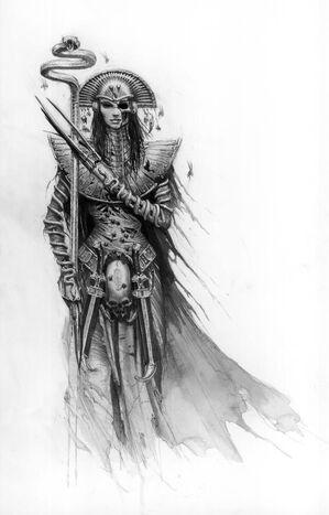 Khalida Neferher por Karl Kopinski