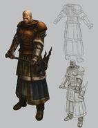 Sacerdote Guerrero 02 Warhammer Online por Michael Phillippi