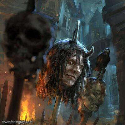 Cabeza de los Traidores por fadingray Warhammer Fantasy RPG - The Enemy Within