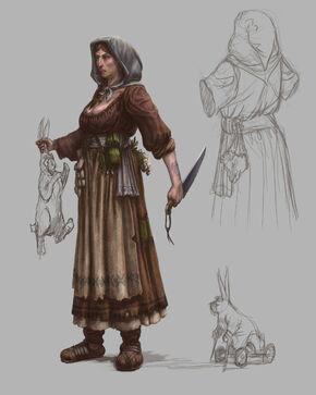Campesina Warhammer Online por Michael Phillippi