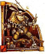 Mordhiem Warhammer Color John Blanche bufón