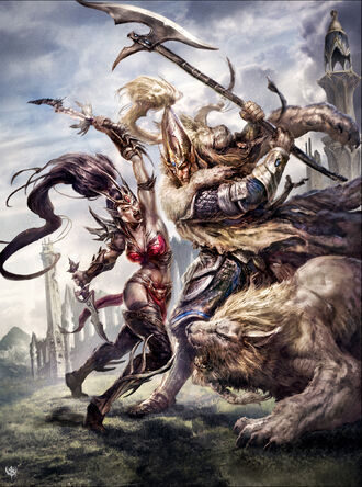 Witch Elf vs White Lion