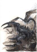 Gólem Escorpión de Paul Dainton Reyes Funerarios