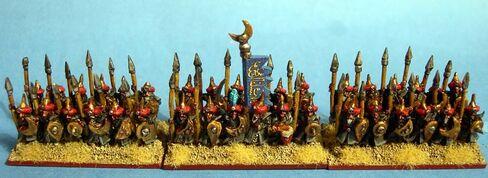 Lanceros Árabes Arabia Warmaster Miniaturas