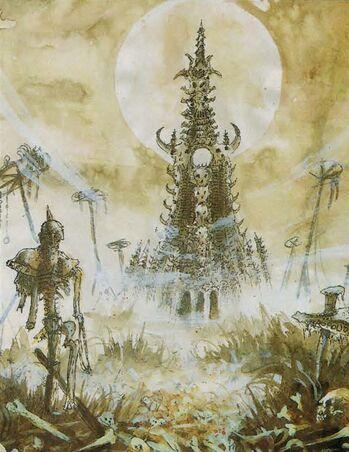 Nagashizzar por John Blanche