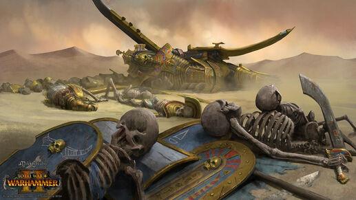 Derrota reyes funerarios warhammer total war por Milek Jakubiec-0