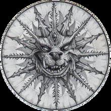Realm of Chaos Emblema por Tony Ackland