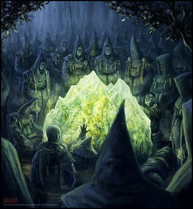 Warhammer Cataclysm Piedra de Disformidad por Mark Molnar Piedra bruja