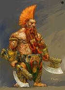 Garagrim Puño Hierro por Adrian Smith Warhammer Online
